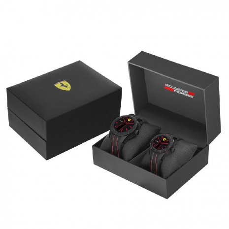 Scuderia Ferrari RedRev Gift Set Watch