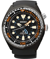 SUN023P1 Prospex Sea 47.50mm Kinetic 20 ATM diver with date & GMT pointer