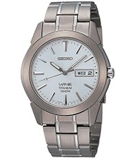 new product 87030 b9673 Gent Day-Date Titanium 37mm Titanium 10 ATM Day/Date Watch with Sapphire  Crystal