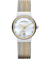 355SSGS Ancher Small 26mm Bicolor Milanese Ladies Watch
