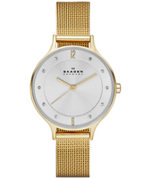 SKW2150 Anita Medium 30mm Gold ladies watch with Milanese bracelet