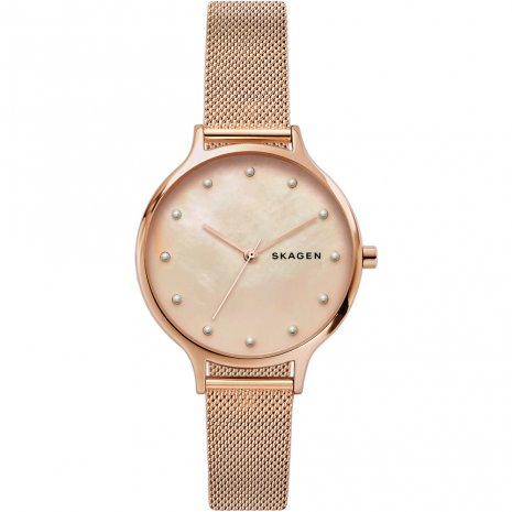 Rose Gold Ladies Quartz Watch Spring and Summer Collection Skagen
