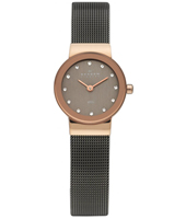 358XSRM Freja Extra Small 22mm Rose Gold & Grey Milanese Ladies Watch