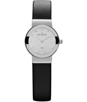 358XSSLBC Freja Extra Small 22mm Silver & Black Ladies Watch