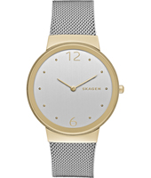 SKW2381 Freja Large 34mm Bicolor ladies quartz watch