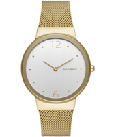 SKW2519 Freja New Large 34mm Gold milanese ladies watch