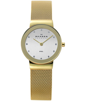 358SGGD Freja Small 26mm Gold milanese ladies watch