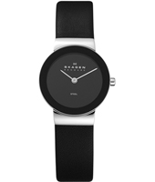 358SSLB Freja Small 26mm Black Ladies Watch
