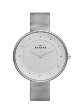 SKW2140 Gitte Large 38mm Silver Milanese Ladies Watch