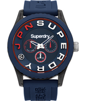 SYG170U Tokyo 46mm Gents scuba style watch with day-date