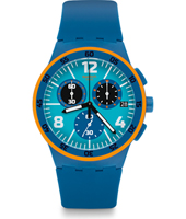SUSN413 Capanno 42mm Plastic chronograph with date