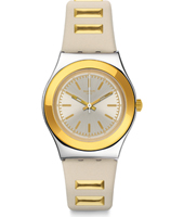 YLS195 Golden Steps 33mm Two Tone Irony Medium Watch