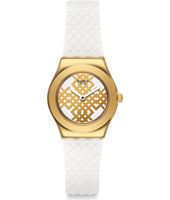 YSG149 Moucharabia 25mm Gold Irony Ladies Watch