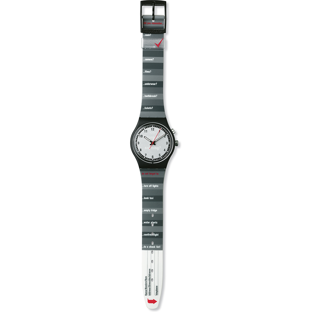 Swatch The Originals Gb905 Packing List Watch Ean 7610522114395