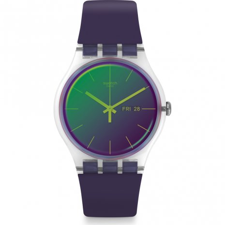 Swatch Polapurple Watch