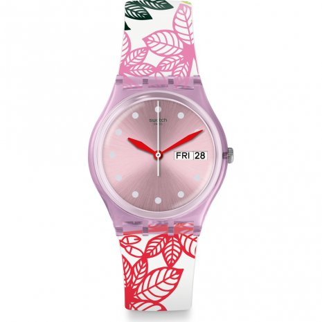 Swatch Summer Leaves Watch