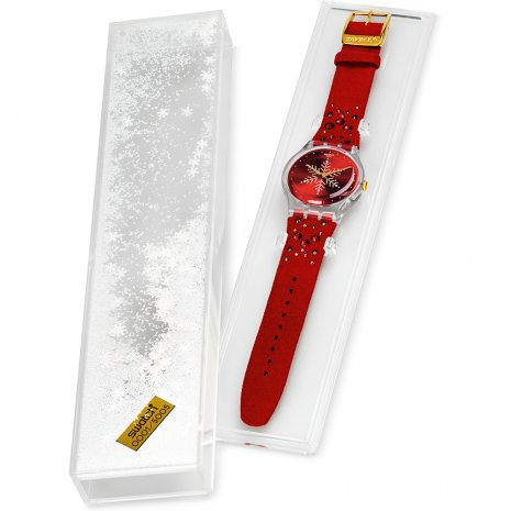 Swatch Shinebright Xmas Season Special Limited Edition Watch