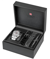 06-8041.04.001 Opportunity 42mm Chronograph Gift Set with two extra straps