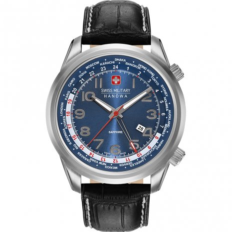 Swiss Military Hanowa Worldtimer Watch