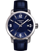 T0554101604700 PRC200 39mm Blue & Steel Gents Watch with Date