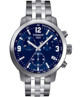 T0554171104700 PRC200  42mm Steel & blue Chronograph with Date