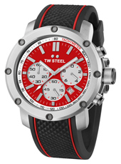 TS1 Grandeur Tech 48mm XL Chronograph with Red Dial