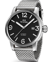 MB16 Maverick 48mm XXL Men's Automatic Watch with Black Dial