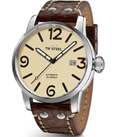 MS25 Maverick 45mm XL Men's Automatic Watch with Beige Dial