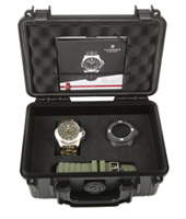 241727.1 INOX Naimakka 43mm Extremely shock and force resistant watch