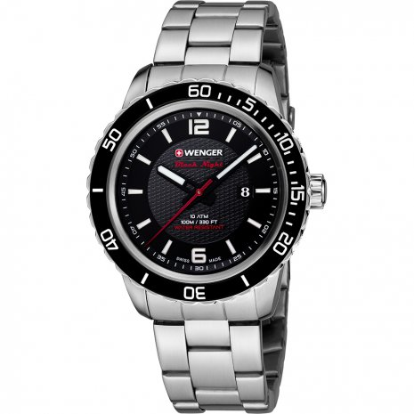 Wenger Roadster Black Night Watch