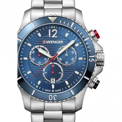 Swiss Made Gents Quartz Chronograph Diver Spring and Summer Collection Wenger