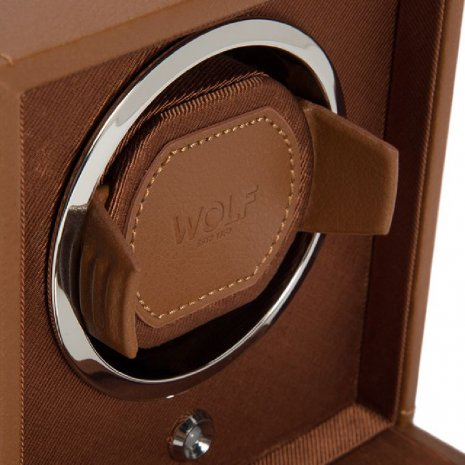 Cognac Watch Winder Spring and Summer Collection Wolf